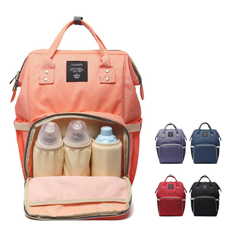 981c77798dd60 2019 Lequeen Mummy Maternity Baby Care Nappy Bag Brand Large Capacity Baby  Dry Wet Bag Travel Backpack Nursing Diaper From Benedicty
