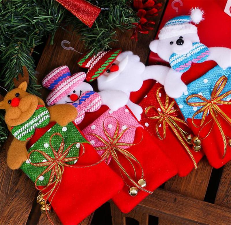 christmas decorations childrens gift bags christmas tree pendants christmas gift bags seniors xmas decoration xmas decoration items from haoke1961