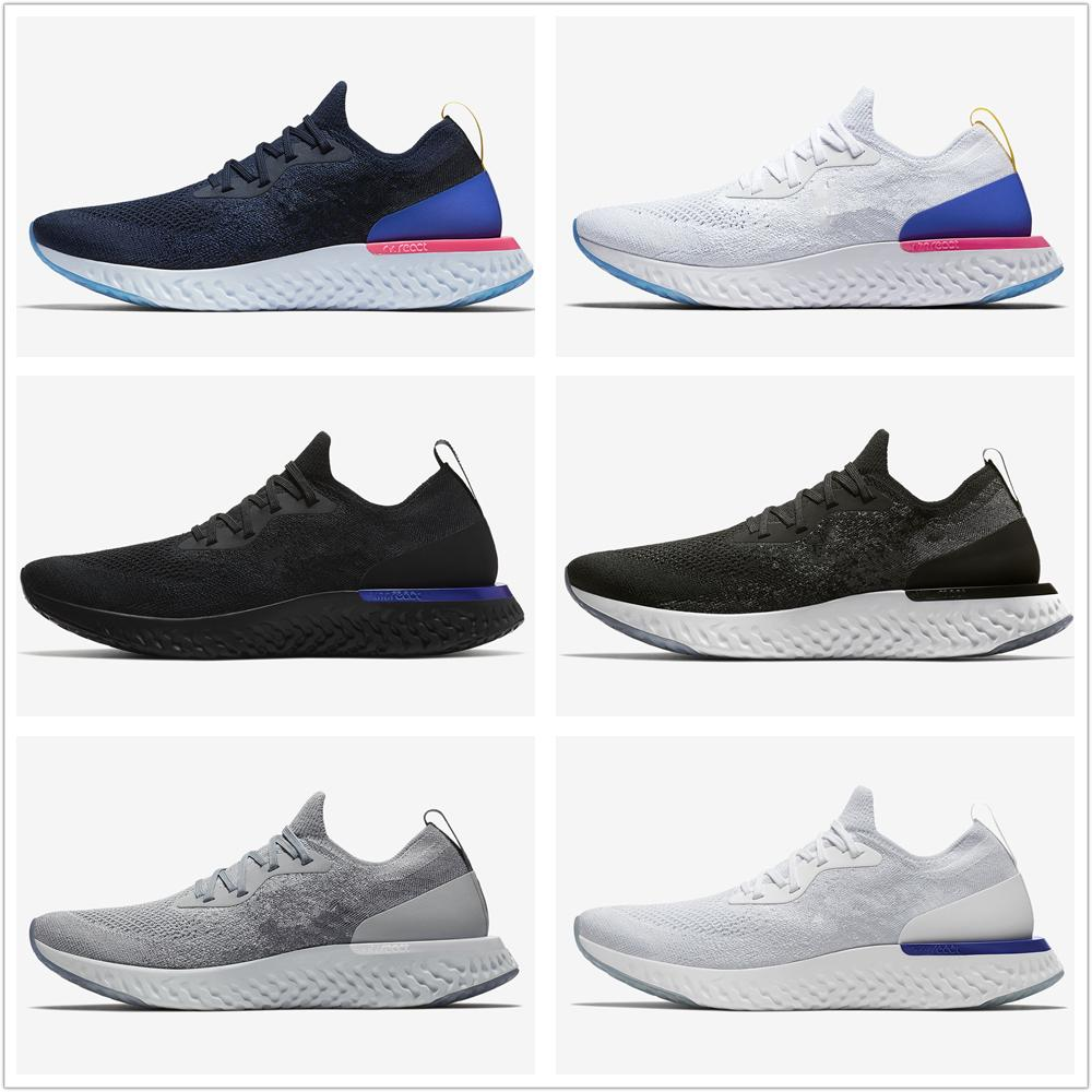 2018 New Top Epic React Instant Go Fly Breathable Mens Women casual Shoes Athletic Mesh Casual Sport White Black shoes Eur 36-45 sale good selling BrV7HjZAdP