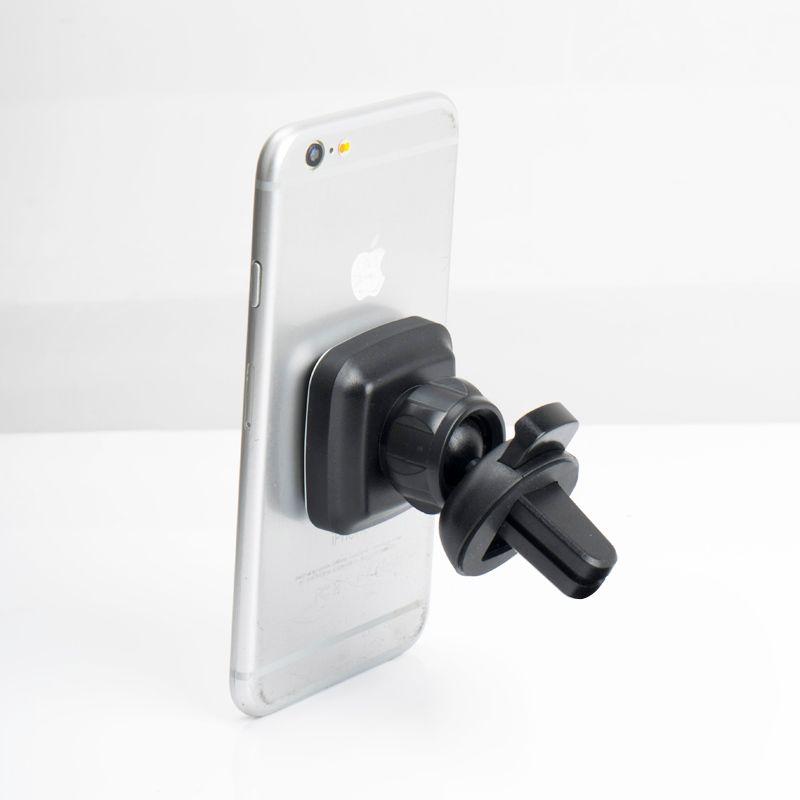 2018 Hotsale Universal 360 Rotación Magnetic Air Vent Car Mount Holder para iPhone GPS PDA Mini Tablet