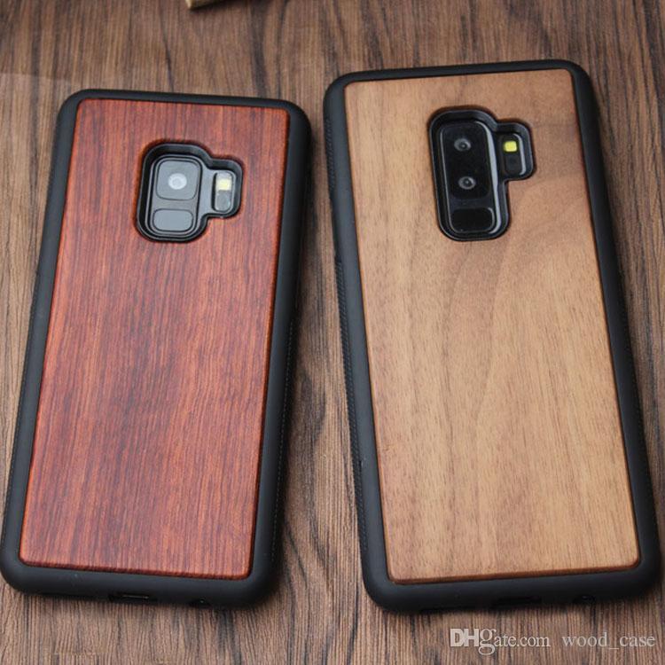carcasa samsung s9 madera