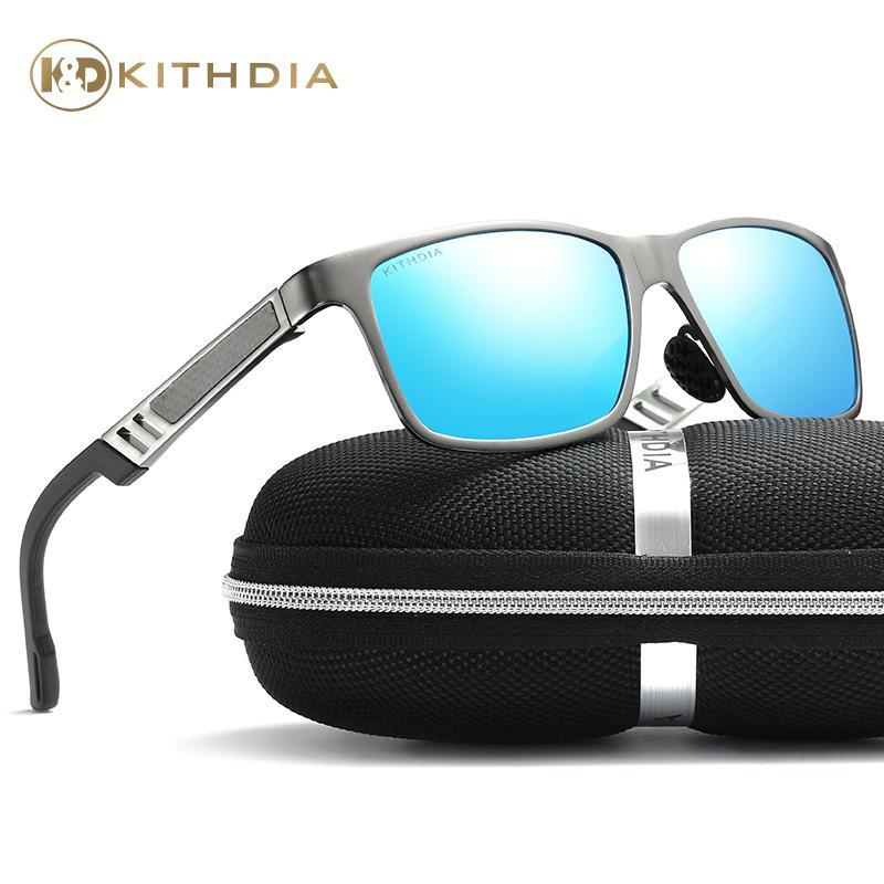 Brand Aluminum Frame Sunglasses Hd Polarized Men Male Driving Sun ...