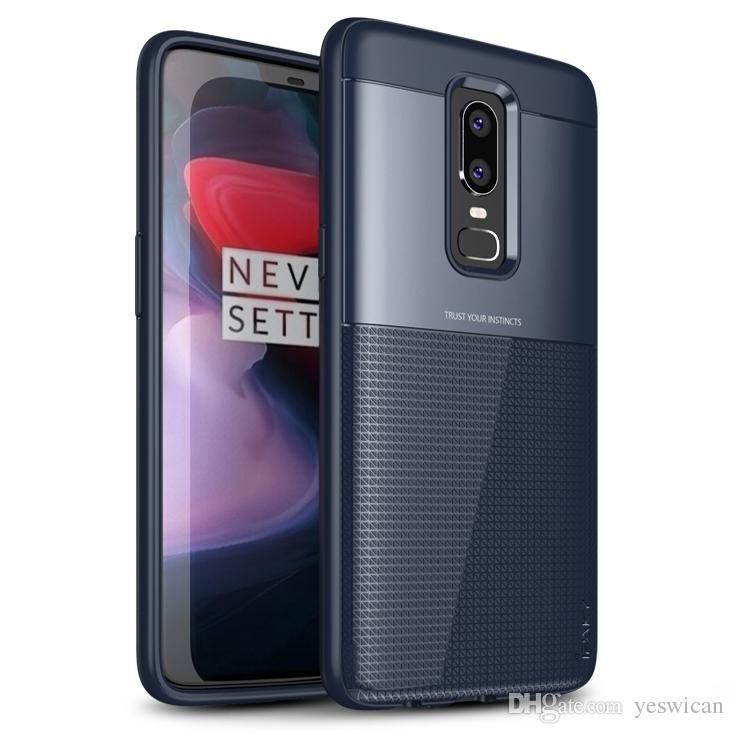the best attitude 91b44 8872c iPaky Case For Oneplus 6 Six 1 6 Armor Back Cover PC TPU Hybrid Drop-proof  Shockproof Hard Soft Cases With Retail Package Wholesale