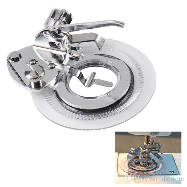 New Decorative Round Flower Stitch Sewing Machine Presser Foot Feet Accessories for Brother Singer Feiyue acessorios para costura