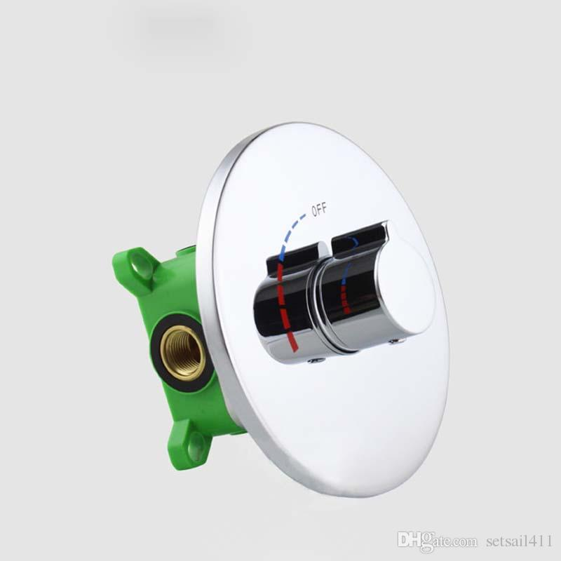 2018 Bath & Shower Faucets Control Brass Mixing Valve Switch ...