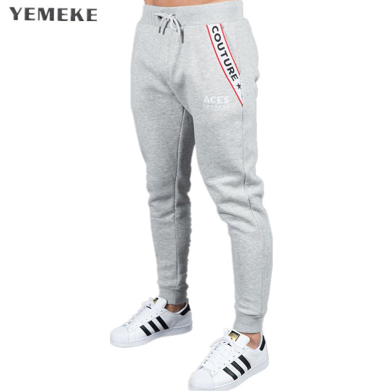 b4f92978 Wholesale Mens Joggers Casual Pants Fitness Sportswear Tracksuit Bottoms  Skinny Sweatpants Trousers Black Gyms Jogger Track Pants Online with  $47.67/Piece ...