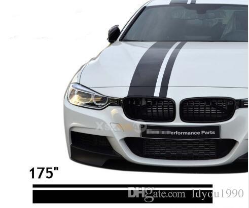 2018 15450cm roll 175 car vinyl decals hood stickers racing stripes for z4 m3 m5 a4 a5 q5 rs6 cla class c gla glk from ldyou1990 20 69 dhgate com