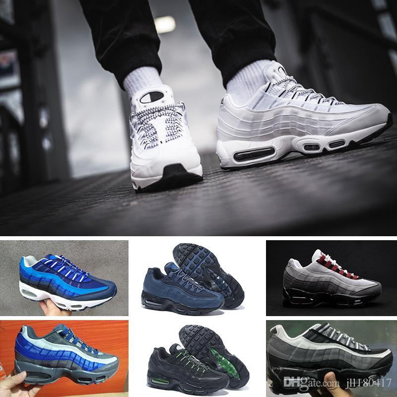 finest selection aa3a1 f1c33 Compre Nike Air Max 95 Running Shoes Zapatos De Mujer 95 Zapatos Negro Rojo  Blanco Entrenador Mujeres Superficie Mujer Tenis Zapatos Casuales A  92.96  Del ...