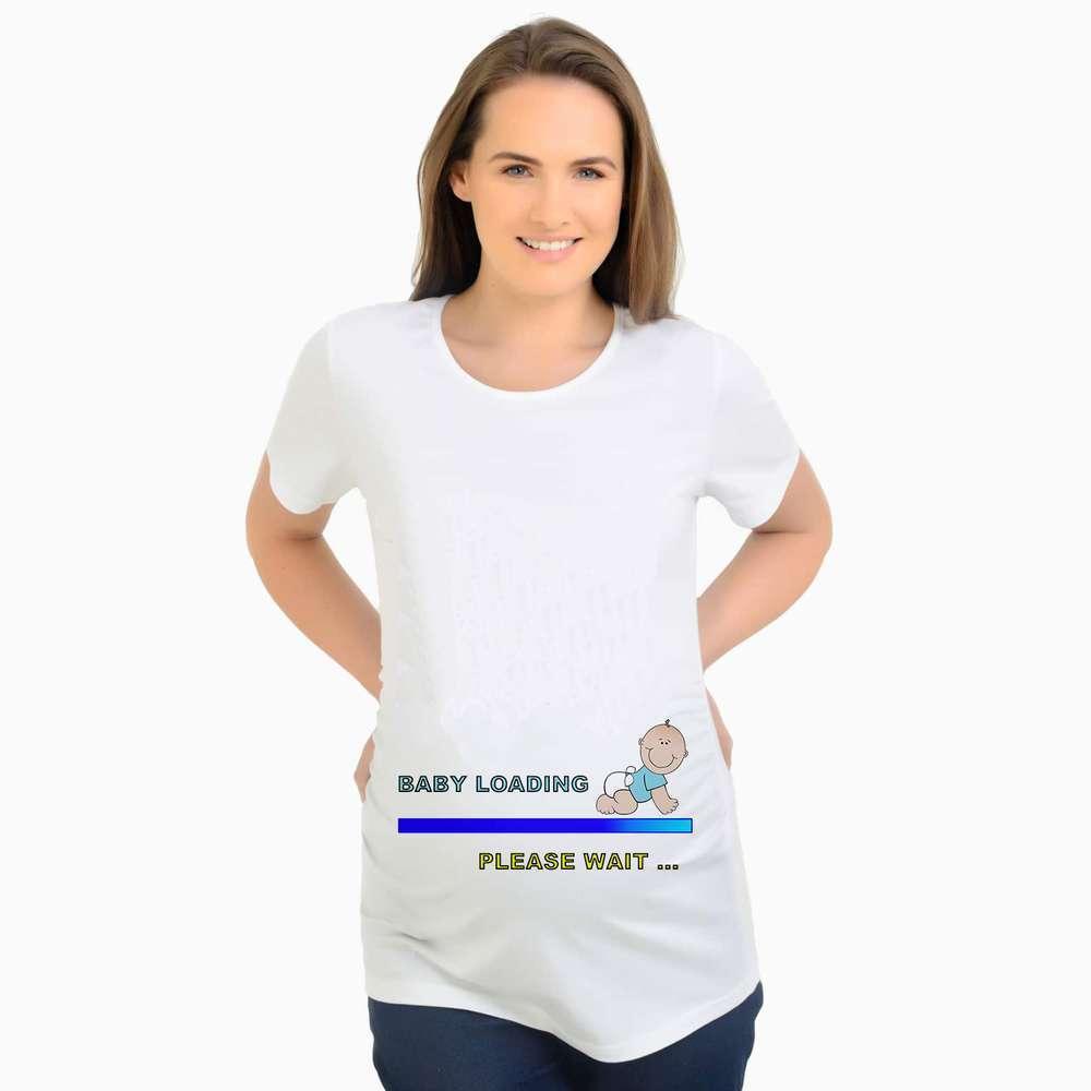 cf0b28fc Christmas Maternity T Shirts Funny