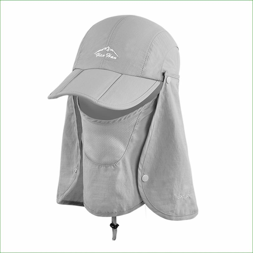 2019 Fsc01 Outdoor Fishing Hiking Bucket Hat Removable Foldable Portable  Waterproof Fisherman Hat Mask Face Protect Cap From Jianpin 8d69dc0e327