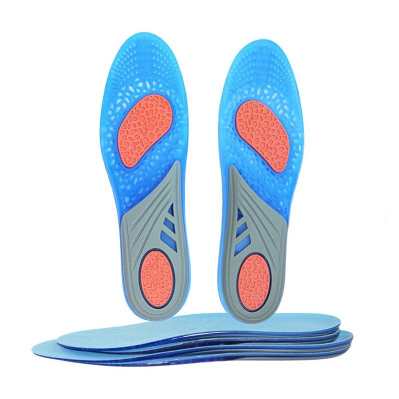 new arrival 1cc51 9c058 2019 Active Anti Friction Silicone Gel Insoles Relieve Foot Pain Stable Heel  Memory Insole Shock Absorption Feet Care Shoe Pad From Ladysweetie, ...