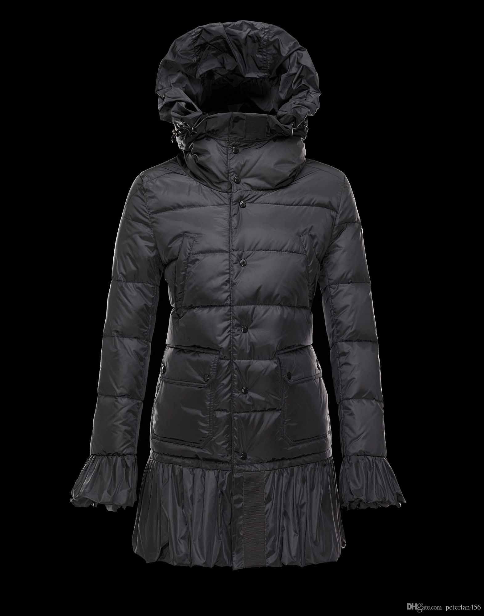 0623e83059 2018 Top Brand Women Parka Anorak Jacket Winter New White Duck Down ...