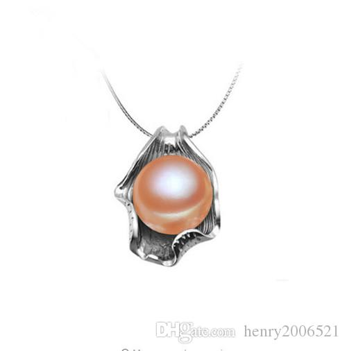 Wholesale deft design 100 genuine pearl pendant newly 13mm rare wholesale deft design 100 genuine pearl pendant newly 13mm rare baroque real pink pearl pendant silver chain silver jewellery from henry2006521 aloadofball Choice Image