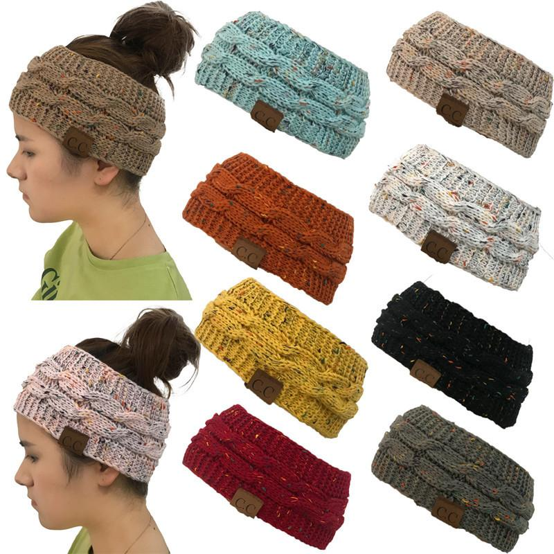 402cf5cba53d6e New Hot CC Knitted Crochet Twist Hat for Women's Winter Ear Warmer Elastic  Turban Hair Accessories Beanie Hat Drop Shipping