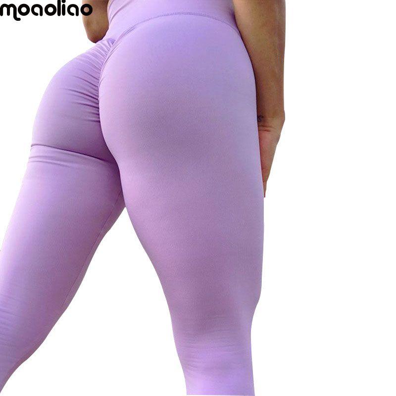 ca4aaa7a7c01e 2019 Women Gym Running Tights Womens Yoga Pants High Elasticity High Waist  Yoga Leggings For Women Hip Up Fitness Sports Leggings From Jinzoug, ...