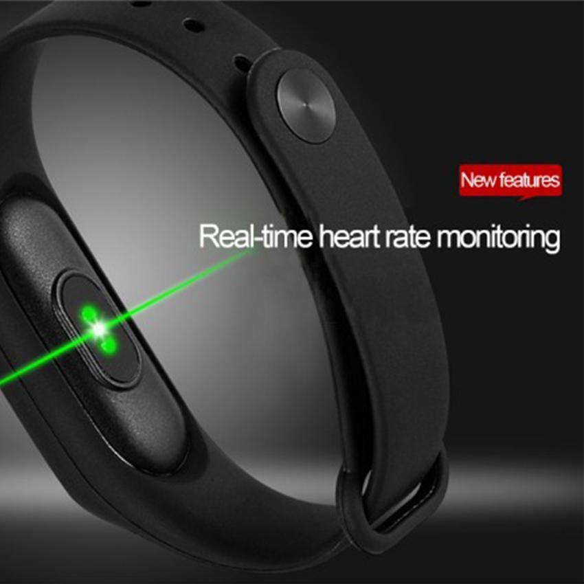 М2 смарт-браслет Smartwatch смарт-группа фитнес-трекер монитор сердечного ритма водонепроницаемый смарт-часы для Android iOS с OLED-дисплей