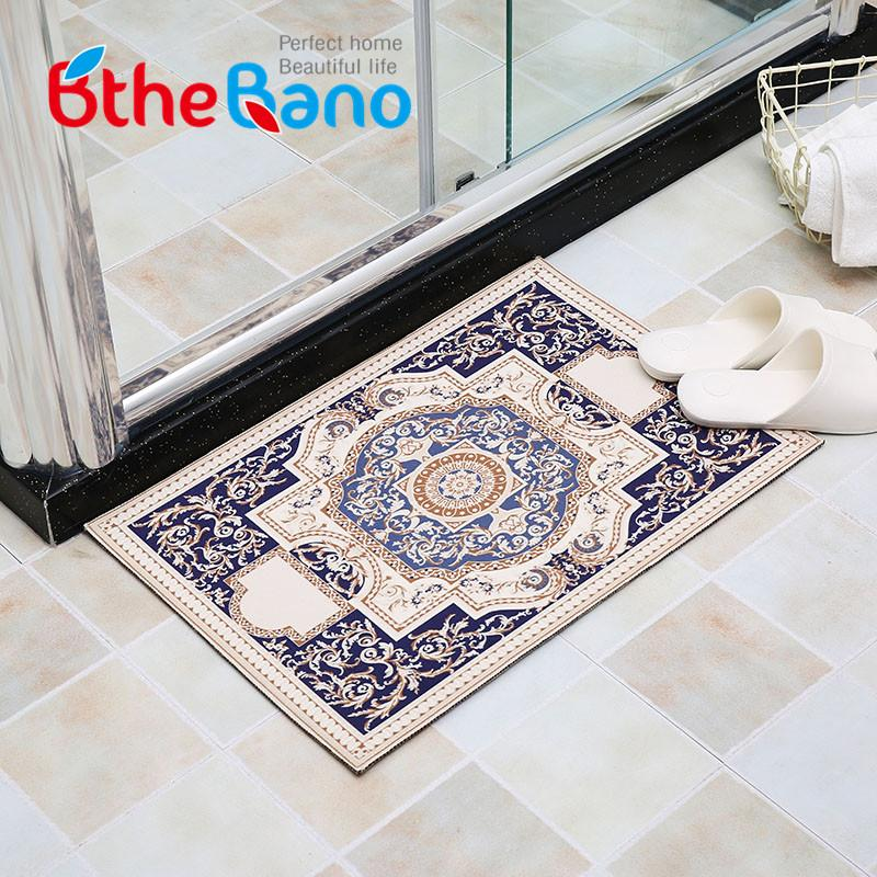 2018 vintage bathroom mat tapis salle de bain bathroom carpet rugs non slip bath mat doormat super absorbent bath mats free ship from copy03 - Tapis Salle De Bain