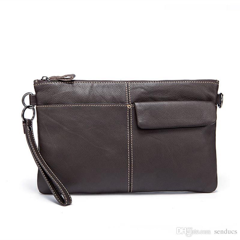100% Genuine Leather Men Bag Men Messenger Bags Fashion Ipad Flap Crossbody  Bags Small Casual Men s Leather Shoulder Bag Man Men Backpack Genuine  Leather ... d92499e8f5df3