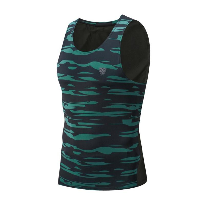 Vertvie Gym Male Joggers Bodybuilding Vests Men Fitness T Shirt Sleeveless Solid Camo Print Shirt Sweat Cotton Running Sexy Vest Running Vests Vests