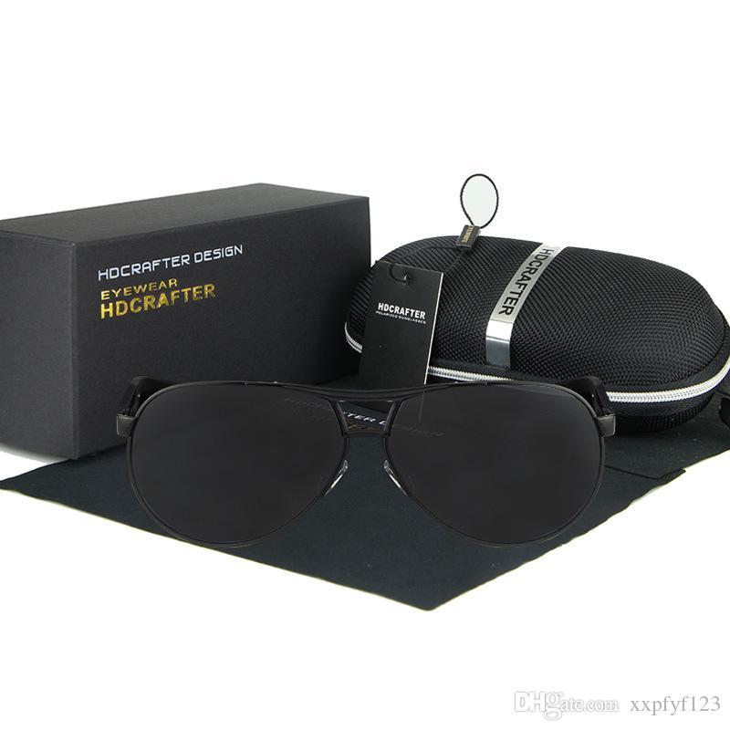 free box Men Driving 2 색 안경 선글라스 전 프레임 안경 상용 안경 안경 선글라스 안경 편광 안경 A331