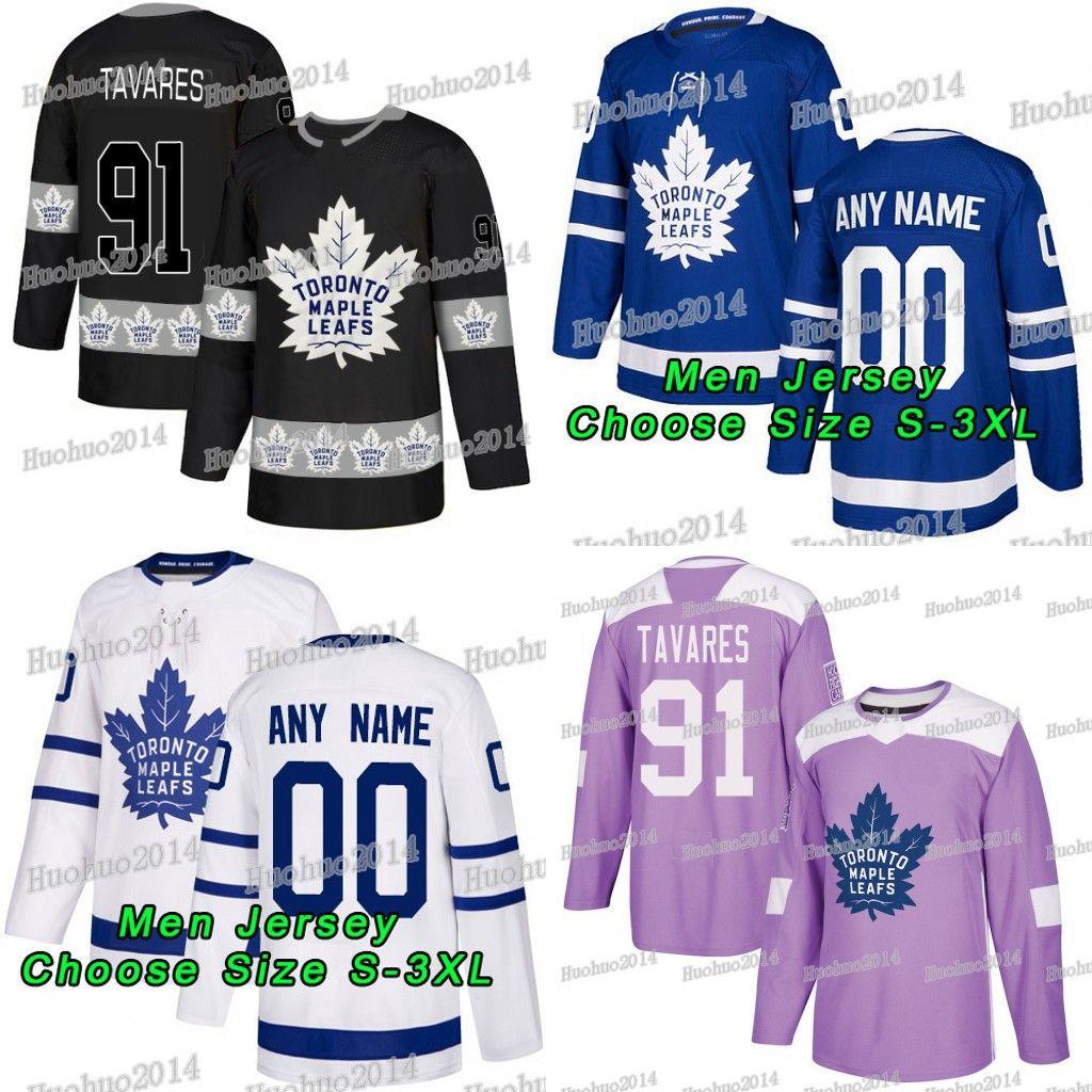 huge discount a8f17 d61fb 91 John tavares 2018 Hockey Fights Cancer Toronto Maple Leafs Mitchell  Marner Auston Matthews William Nylander Brown Andersen Rielly Jerseys