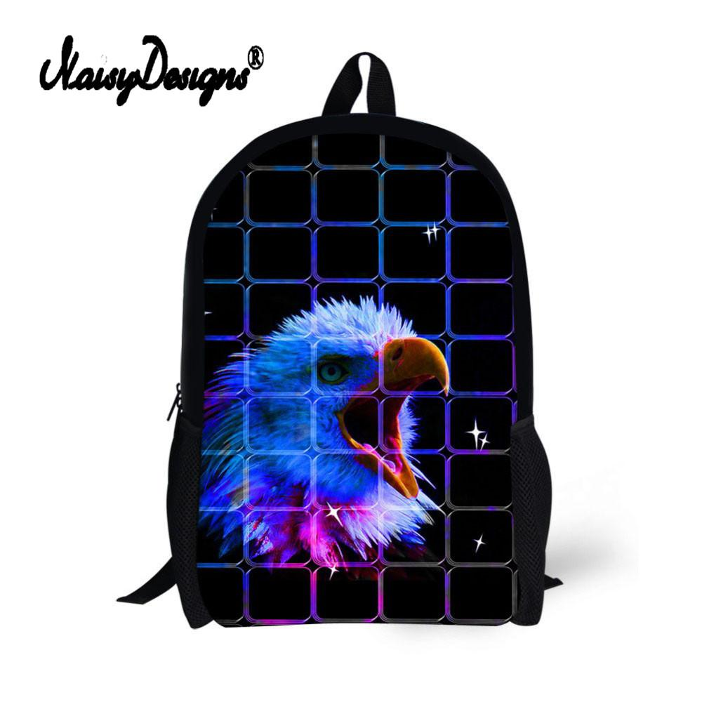 Children School Printing Animal Schoolbags Para Compre Mochila Negra qRWz7nU