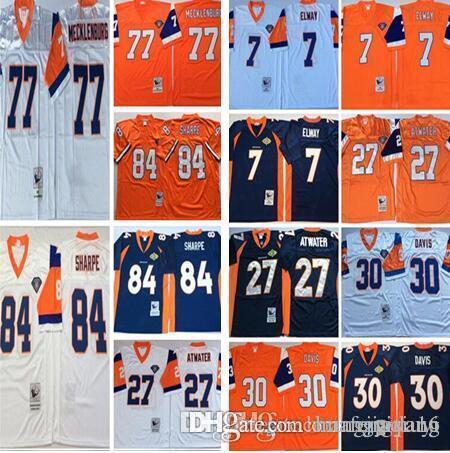 572c0e67a Denver Broncos 7 John Elway 27 Steve Atwater Terrell Davis 57 Tom ...