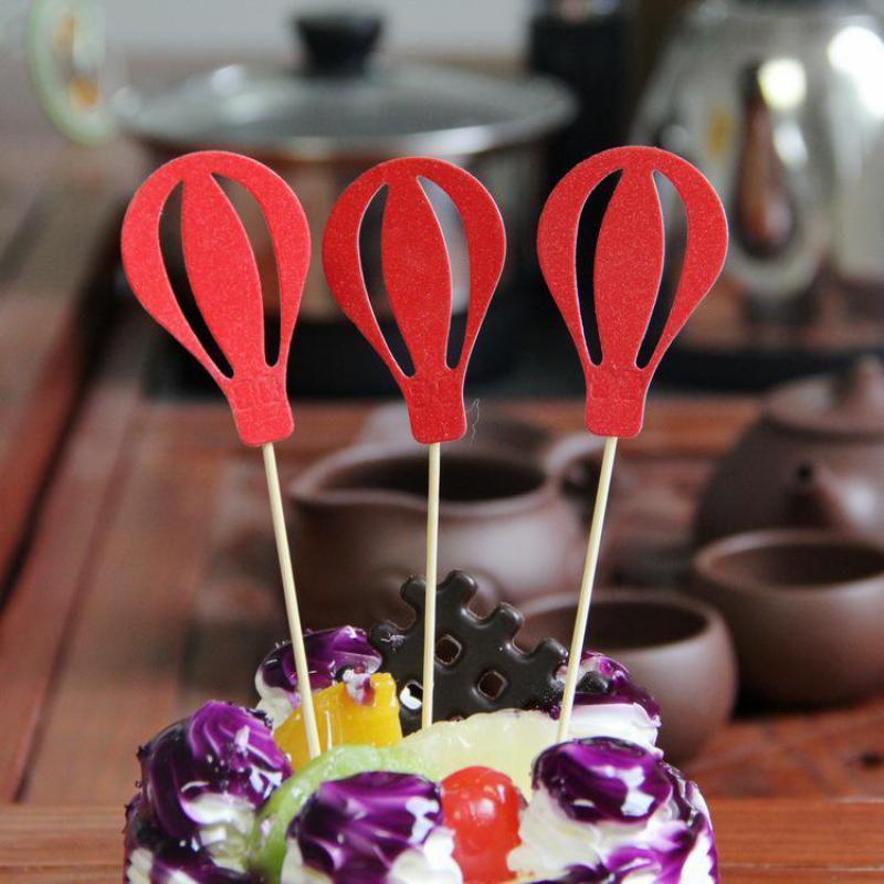 Grosshandel Ballon Form Kuchen Dekorieren Happy Birthday Party