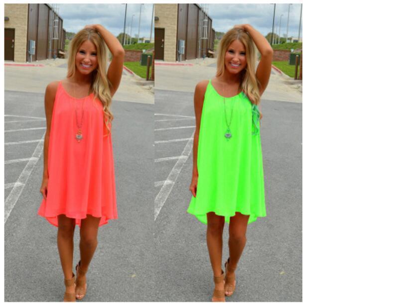 e30179052 New Fashion Sexy Casual Dresses Women Summer Sleeveless Evening ...
