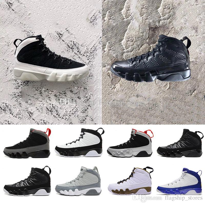 c182f09c9e1838 2018 New 9 9s Men Basketball Shoes LA Bred OG Space Jam Tour Yellow PE  Anthracite The Spirit Johnny Kilroy Mop Melo Sneakers US8 13 Sports Shoes  Online ...