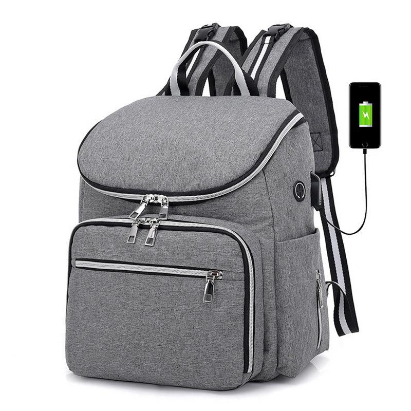 2019 NIBESSER Usb Backpack Large Capacity Backpack Female Leather Backbag Mom  Bag Travel Hand Bag Women Daypacks Sac A Dos Organiser Backpacks For Girls  ... 53c9852de34c9