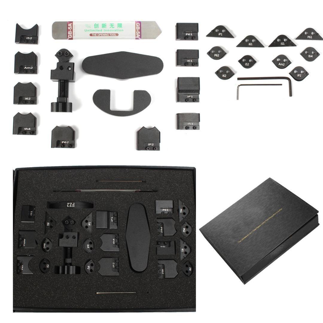 26pcs Repair Corner Sidewall Bender Frame Back Repair Mobile Phone Tools Kit For I Phone I Pad I Cell