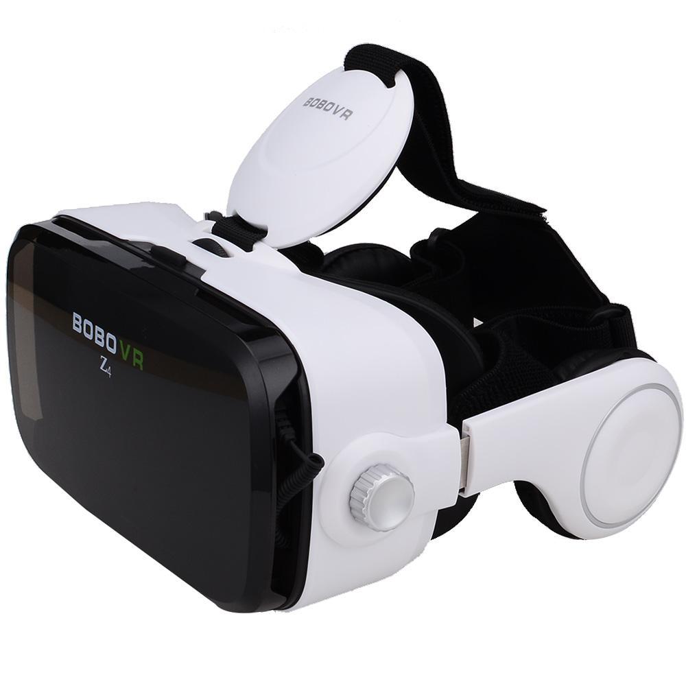 0de6bde73c0 Original BOBOVR Z4 Leather 3D Cardboard Helmet Virtual Reality VR Glasses  Headset Stereo Box BOBO VR For 4 6  Mobile Phone 3d Glasses Emitter 3d  Glasses For ...