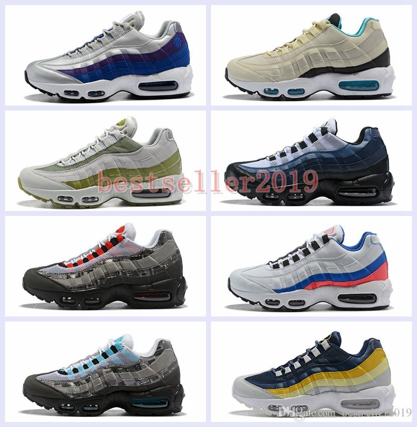 e17b54a6ab492 2018 New Ultra 95 OG 20th Anniversary Men Running Shoes Sports 95s ...
