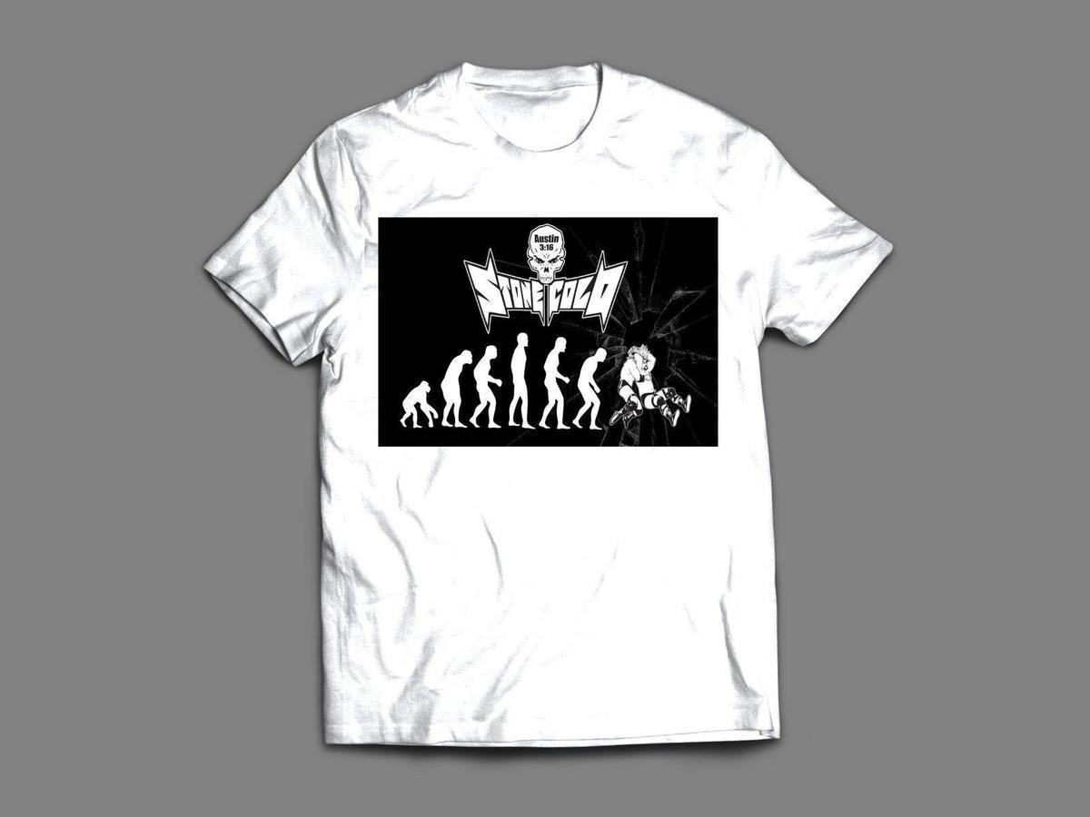 d2c93dc7f WWF LEGEND STONE COLD STUNNER STEVE AUSTIN CUSTOM Mens T Shirt *MANY  COLORS* Mens 2018 Fashion Brand T Shirt The Who T Shirts Online Tshirt  Shopping From ...