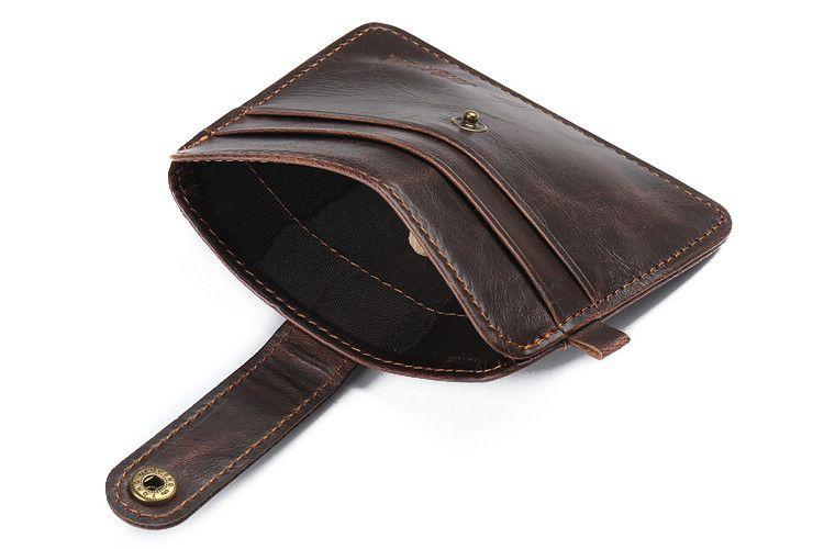 card holder bag name ID Business Card Holder bag High Quality men Leather credit Cards Case