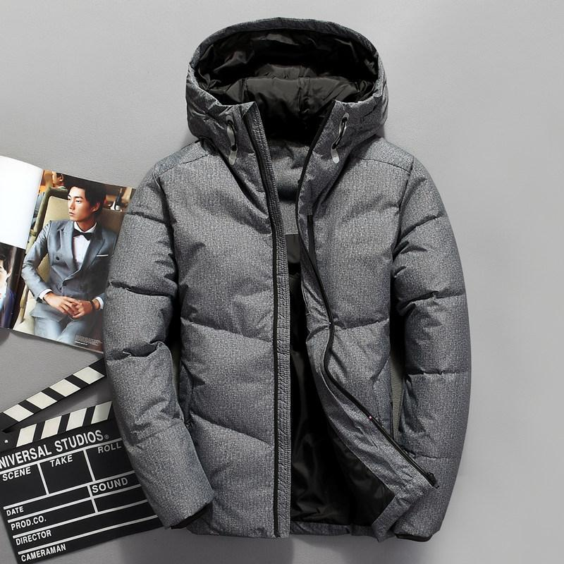 Reasonable 2018 New Men Casual Brand White Duck Down Jacket Autumn Winter Warm Coat Mens Ultralight Duck Down Jacket Male Windproof Parka Good Taste Men's Clothing