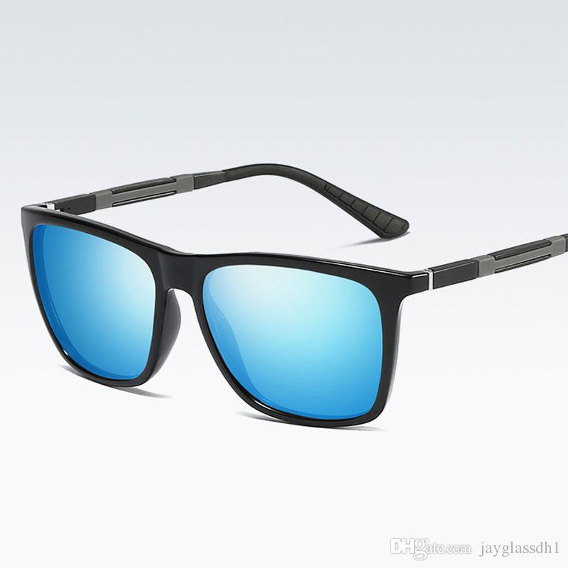 16eabb1658 New 2018 Classic Polarized Square Sunglasses Women Men Driving ...