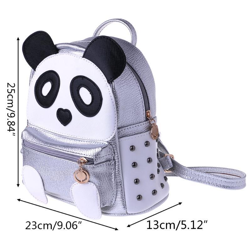 354b96fa1edb New Arrive Cute Panda Rivet Backpack School Bag Women Teens Girls Mini  Casual Cartoon Backpack School Backpacks Cool Backpacks From  Lvzhibagshoe001