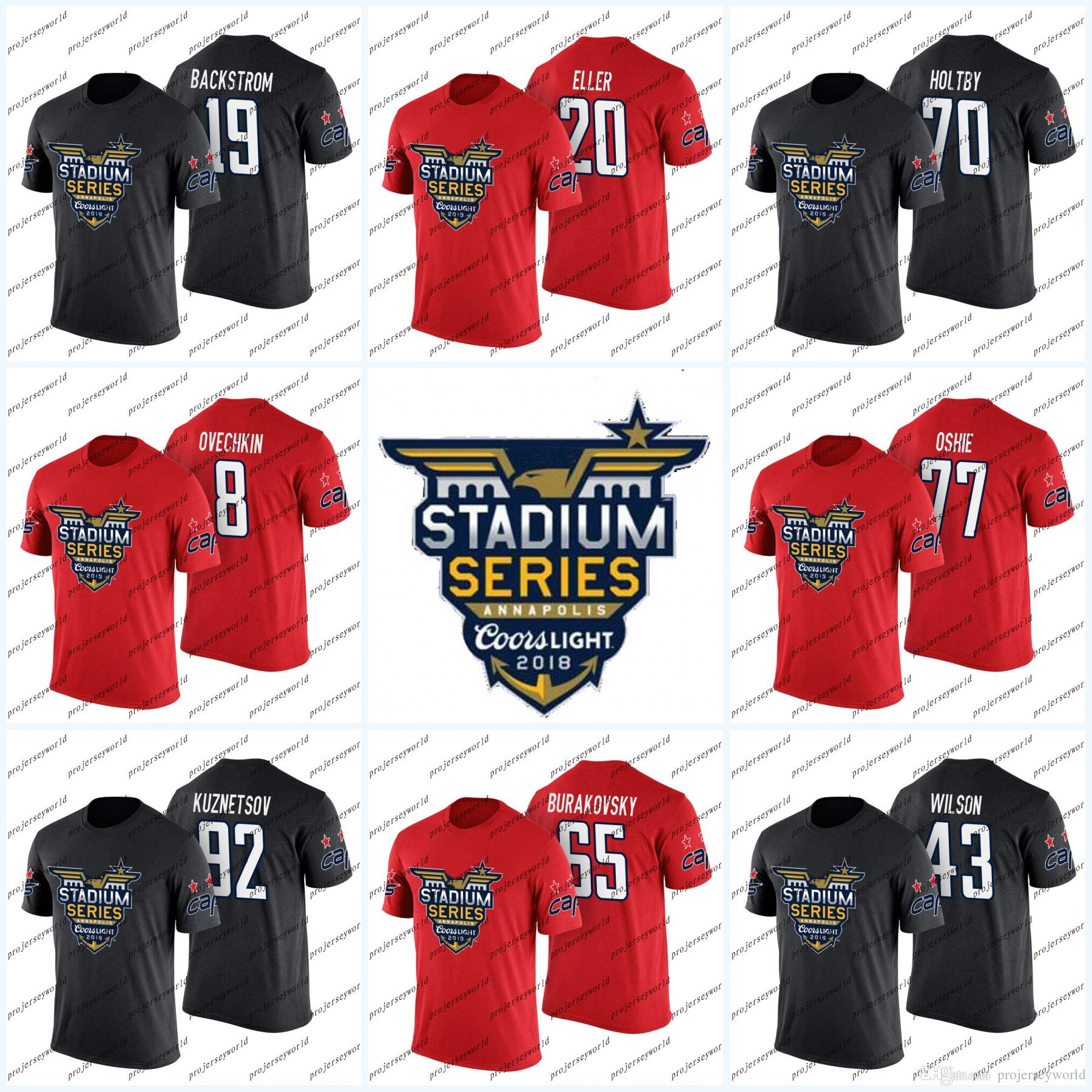 38d2266445a 70 Braden Holtby 2018 Stadium Series T-shirt Washington Capitals ...