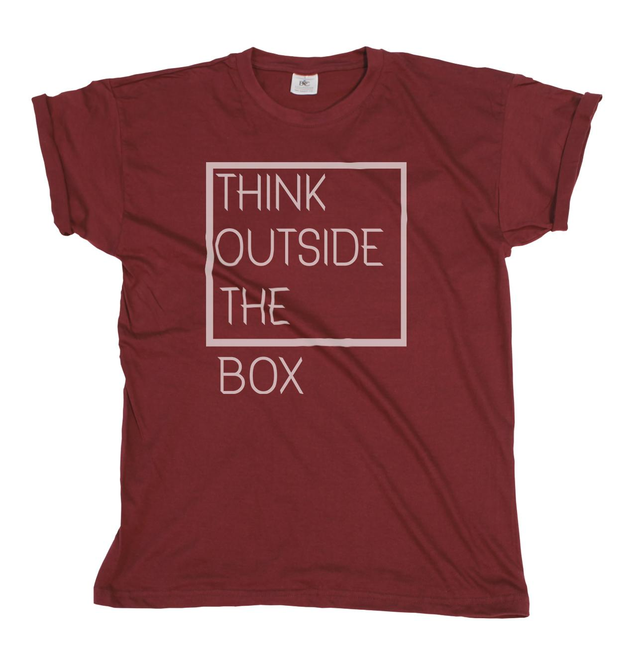 4a727244e Think Outside The Box Mens/Ladies T Shirt Christmas Gift The Coolest T  Shirts T Shirt Shirt Designs From Tshirtemperor, $11.01| DHgate.Com