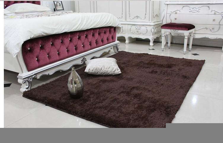 Terrific Wholesale Free Shipping Handmade 2 Rose Art Rug For Bedroom Bedside Art Carpet Romantic Rose 70 60Cm Interior Design Ideas Inamawefileorg