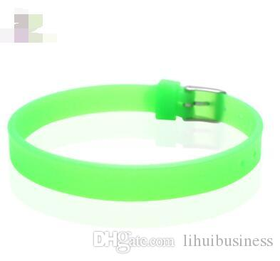 hot sale Fashion Jewelry Silicone Bracelet Fashion Charm Bracelet Personalized Bracelet Fit for 8mm Slide letters Charms
