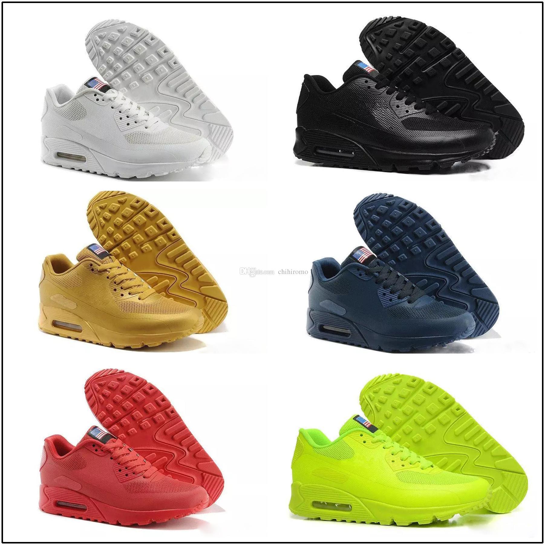 Zapatillas Prm Qs De Hyp Mode L'indépendance Max Nike 90 Vente Ligne Air Drapeau Chaussures Hommes En Running Fête bvf7g6yY