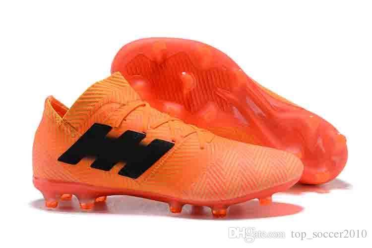 db05651e3363 soccer Men's Boots Predator 18 18.1 FG Shoes ACE 17 PureControl X Purechaos  Nemeziz Messi 17.1 Precision Accelerator DB Outdoor Cleats