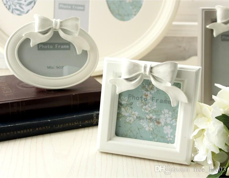 Hot Sale Home 1414cm 4 Inch White Resin Square Picture Frame