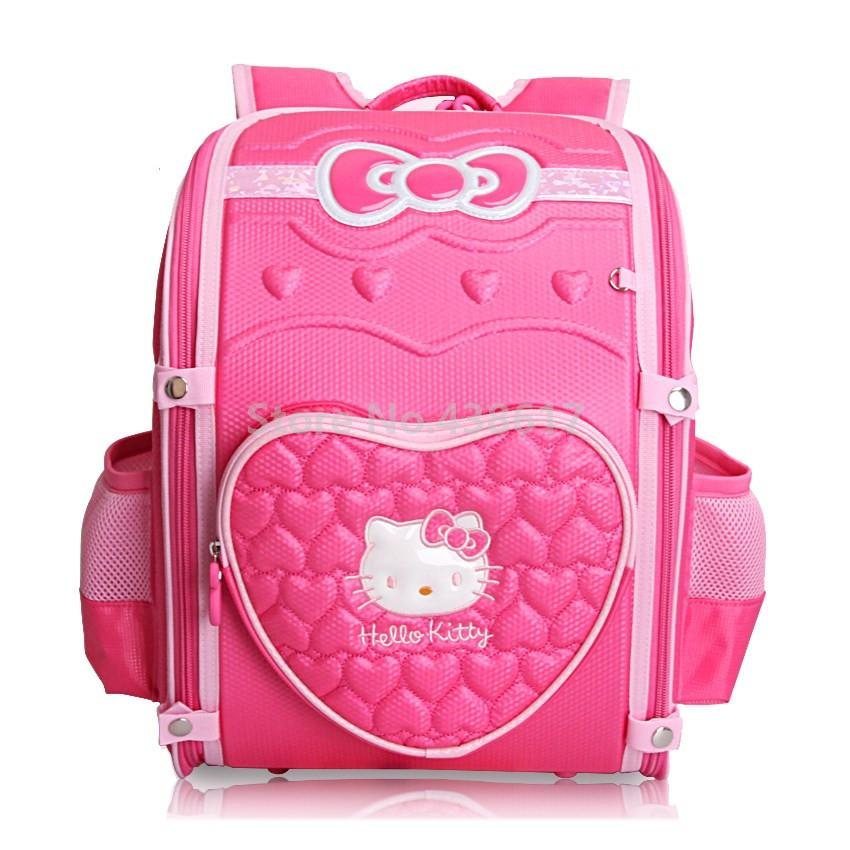 8db7cc58d08b 3D EVA Cute Cartoon Pink Hello Kitty Girls School Bag For Kids Children  Primary School Backpack Bags Mens Shoulder Bags Womens Bags From Rowback