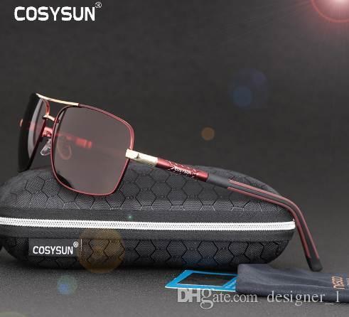 8b5edd8295 COSYSUN Brand Men Sunglasses HD Polarized Sunglasses Men Driving ...