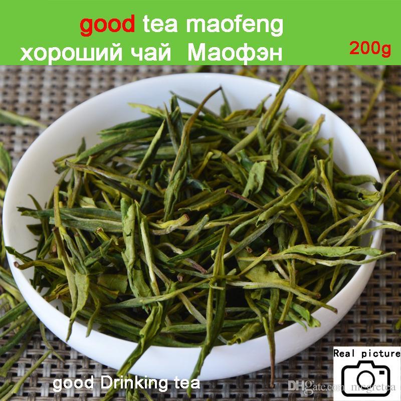 SALE 2019 New 200g Premium!!!China Organic White Tea Green Tea Super Anji baicha needle Tea for Health Care Beauty and Slim