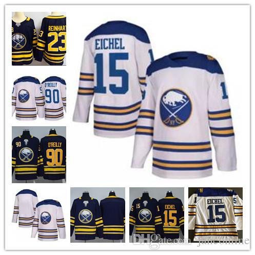 2018 Winter Classic Jersey 15 Jack Eichel Buffalo Sabres Hockey ... ea35f4bfb